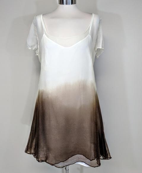 Vivienne Tam Dresses & Skirts - Archival Vivienne Tam Ombre Slip Dress